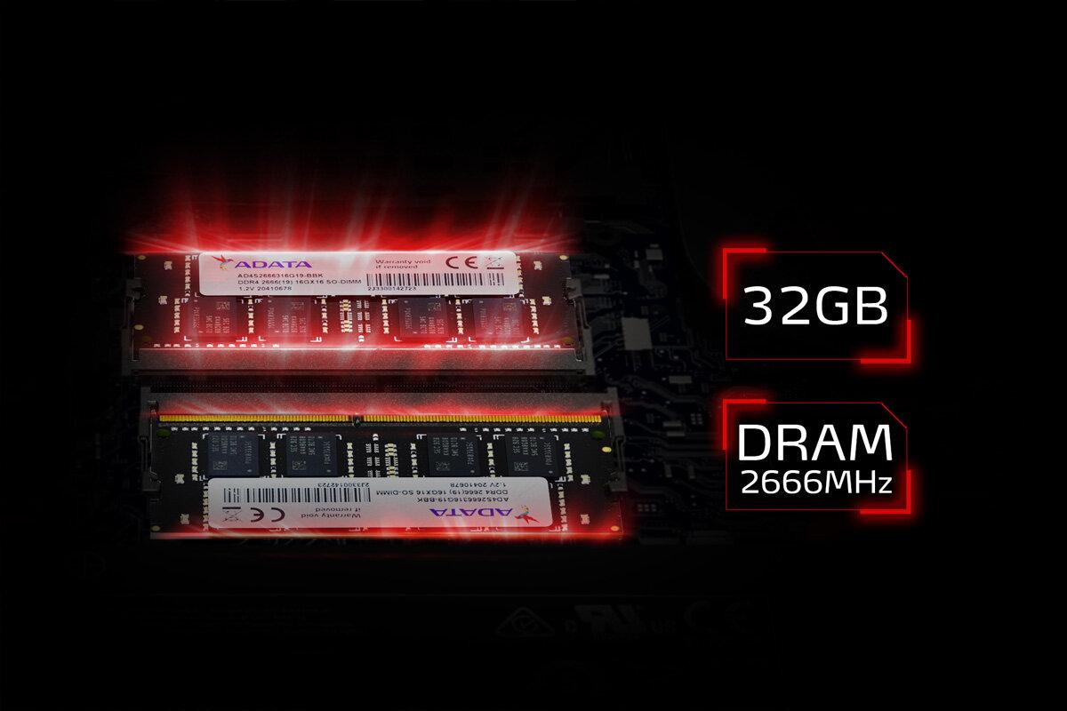 Adata XPG Xenia – immer mit 32 GB RAM