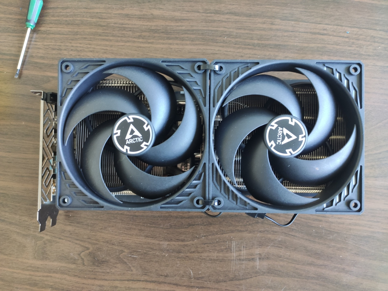 Radeon RX Vega 56 Arctic P12-Mod