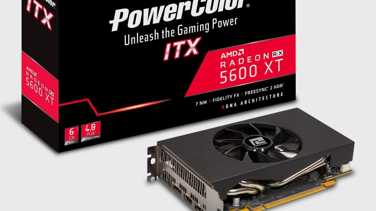 PowerColor: Erste Radeon RX 5600 XT im ITX-Format
