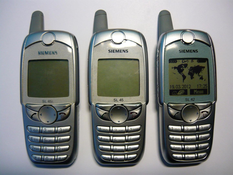 Siemens SL45i, SL45 und SL42: Die ersten Mobiltelefone mit MP3-Player