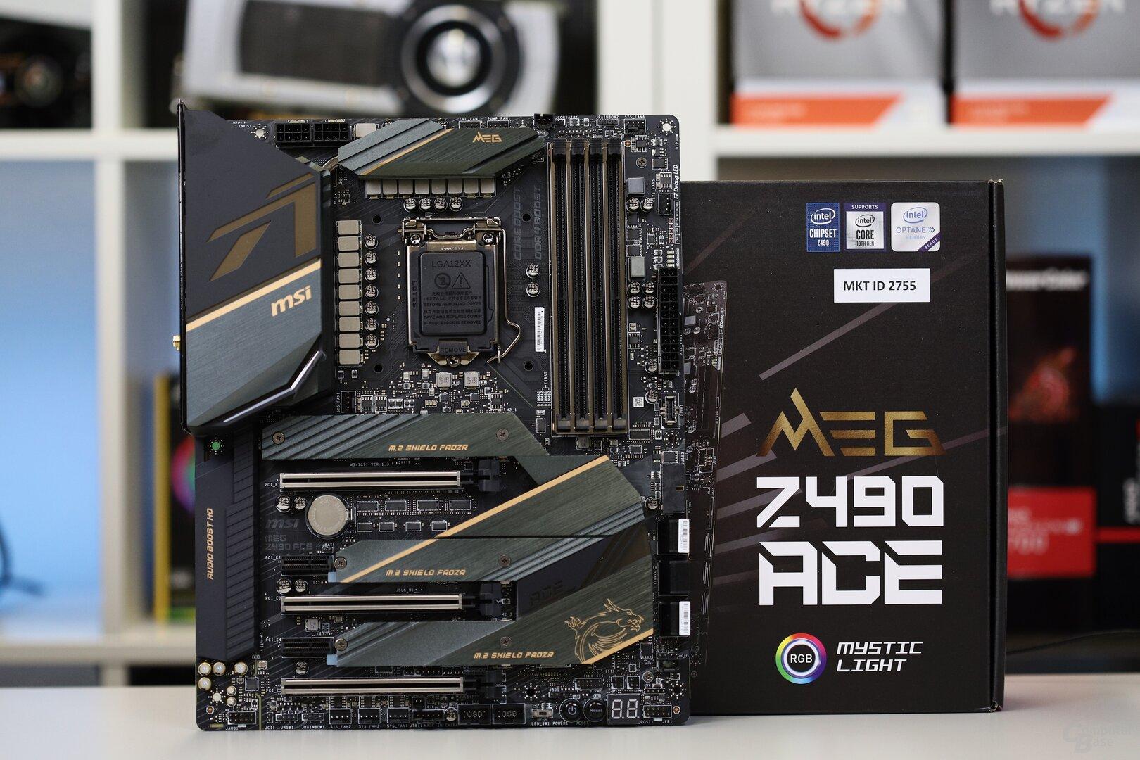 Das MSI MEG Z490 Ace in der Redaktion