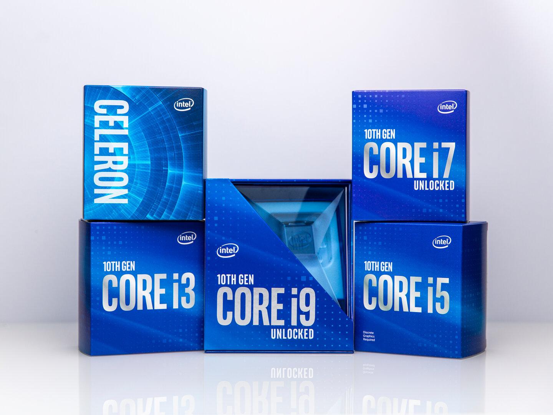 Intel Comet Lake-S Familienfoto