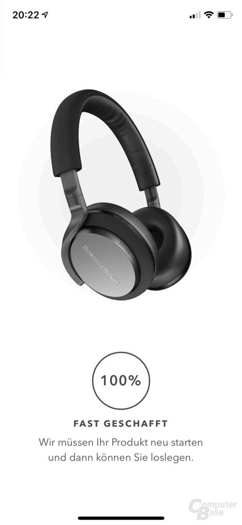 Bowers & Wilkins Headphones App mit PX5