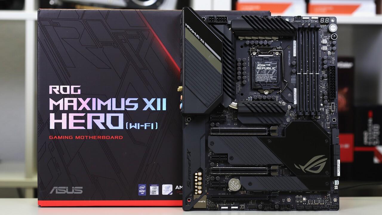 Asus ROG Maximus XII mit Z490: Extreme und Formula mit 10-Gbit-LAN und schnellem RAM