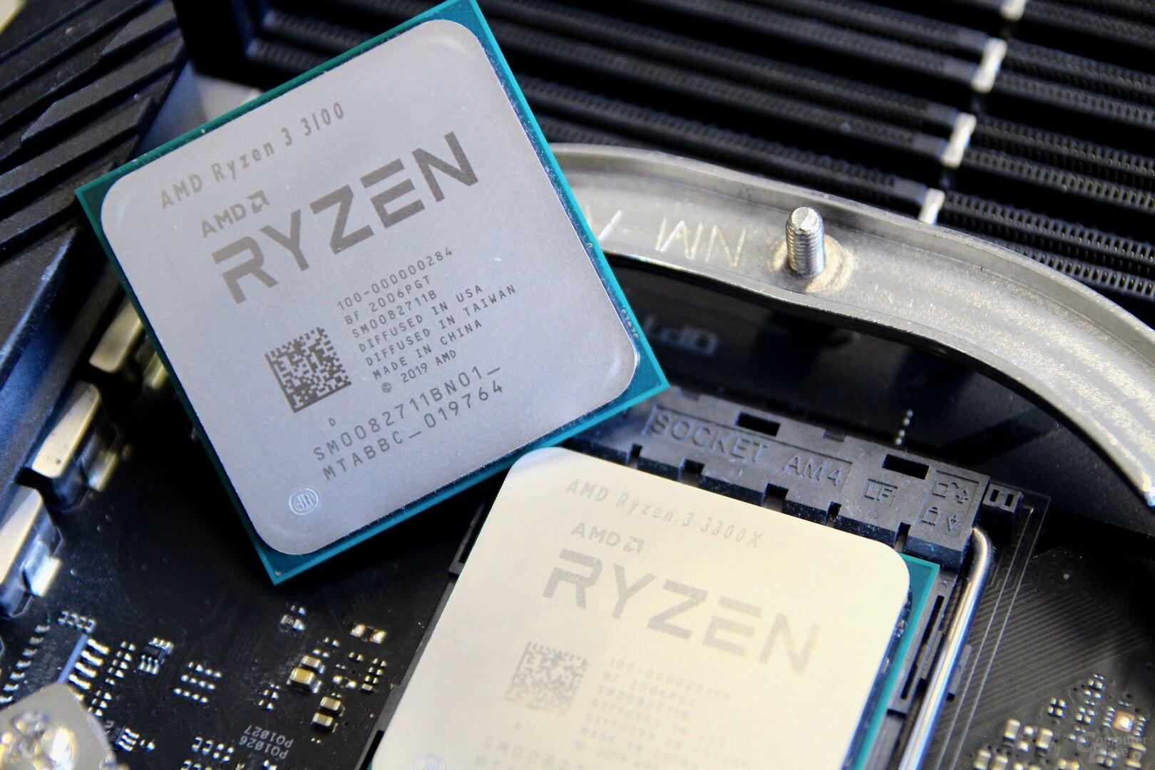 AMD Ryzen 3 3300X und 3100 im Test