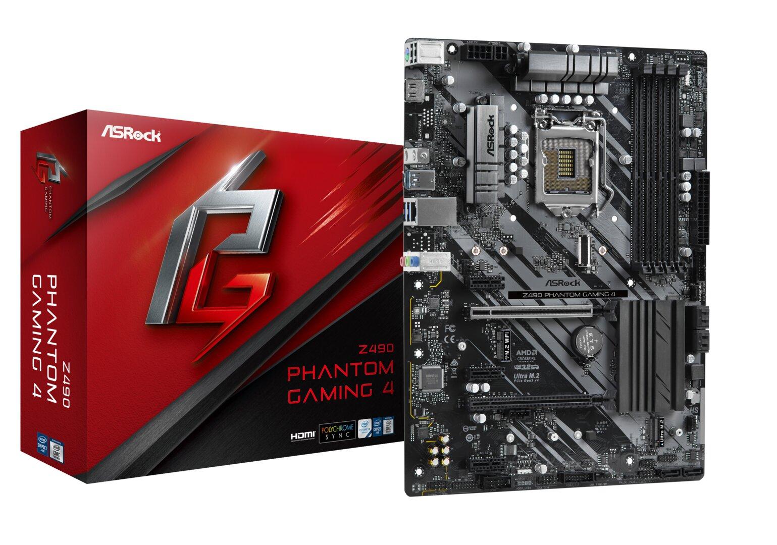 ASRock Z490 Phantom Gaming 4
