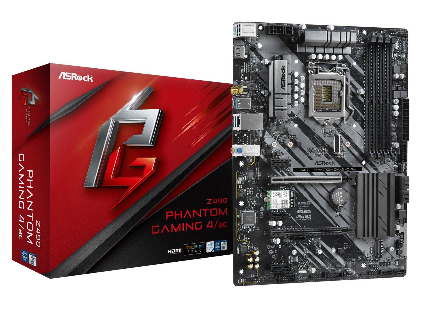 ASRock Z490 Phantom Gaming 4 ac