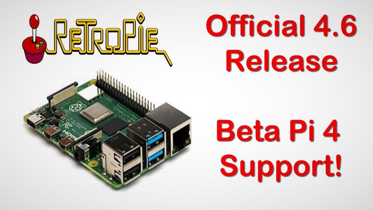 RetroPie 4.6: Emulator für Retro-Spiele läuft auch auf Raspberry Pi 4