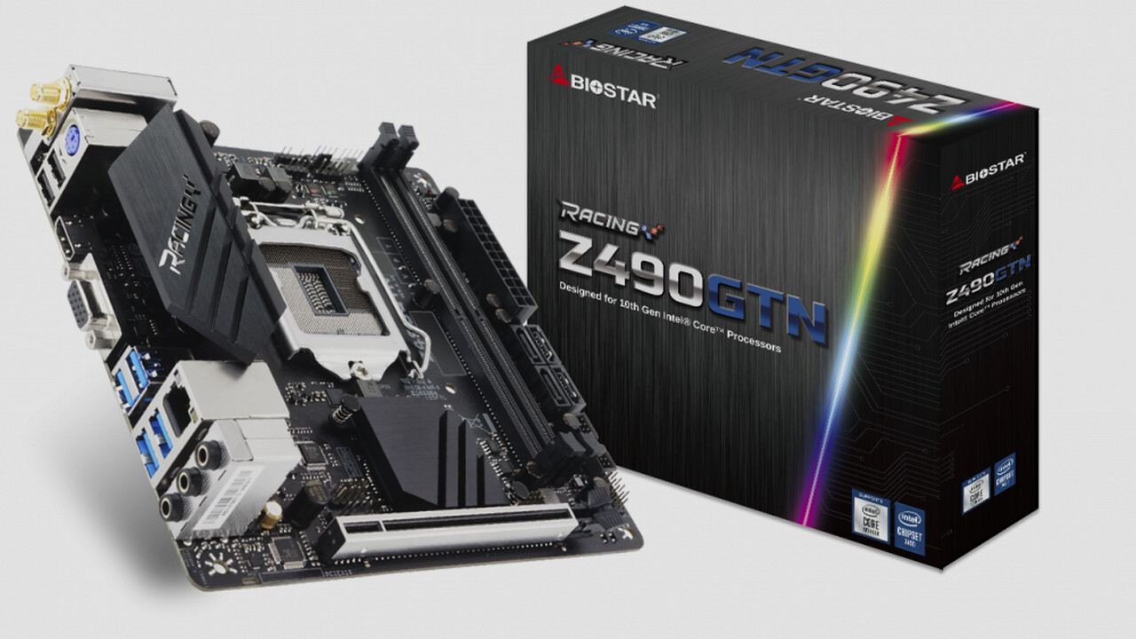 Mainboards: Biostar zeigt Z490 in Mini-ITX sowie B460 und H410