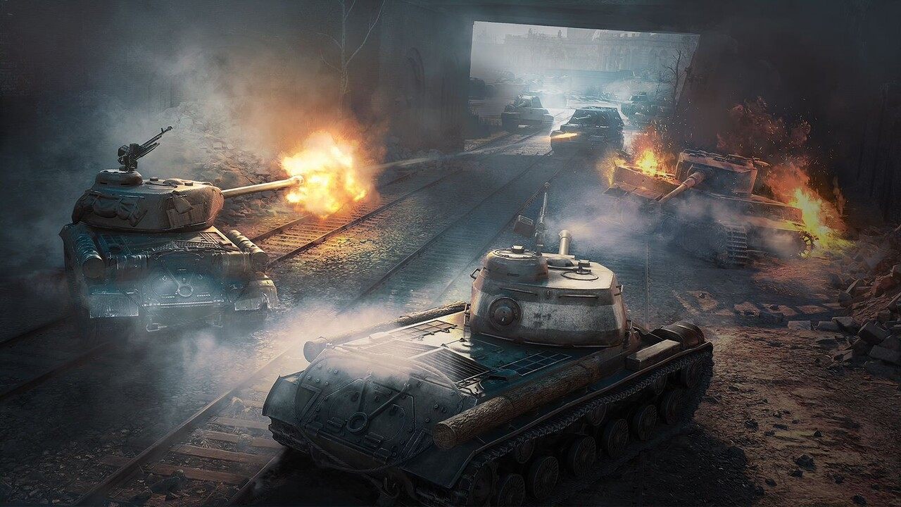 "World of Tanks: Neuer PVE-Modus als Event ""Road to Berlin"""