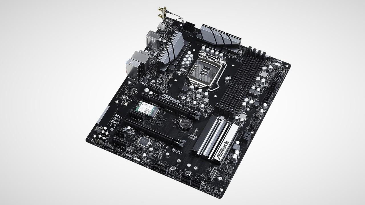 Z490 Phantom Gaming 4SR: ASRock setzt auf ATX12VO-Standard für höhere Effizienz