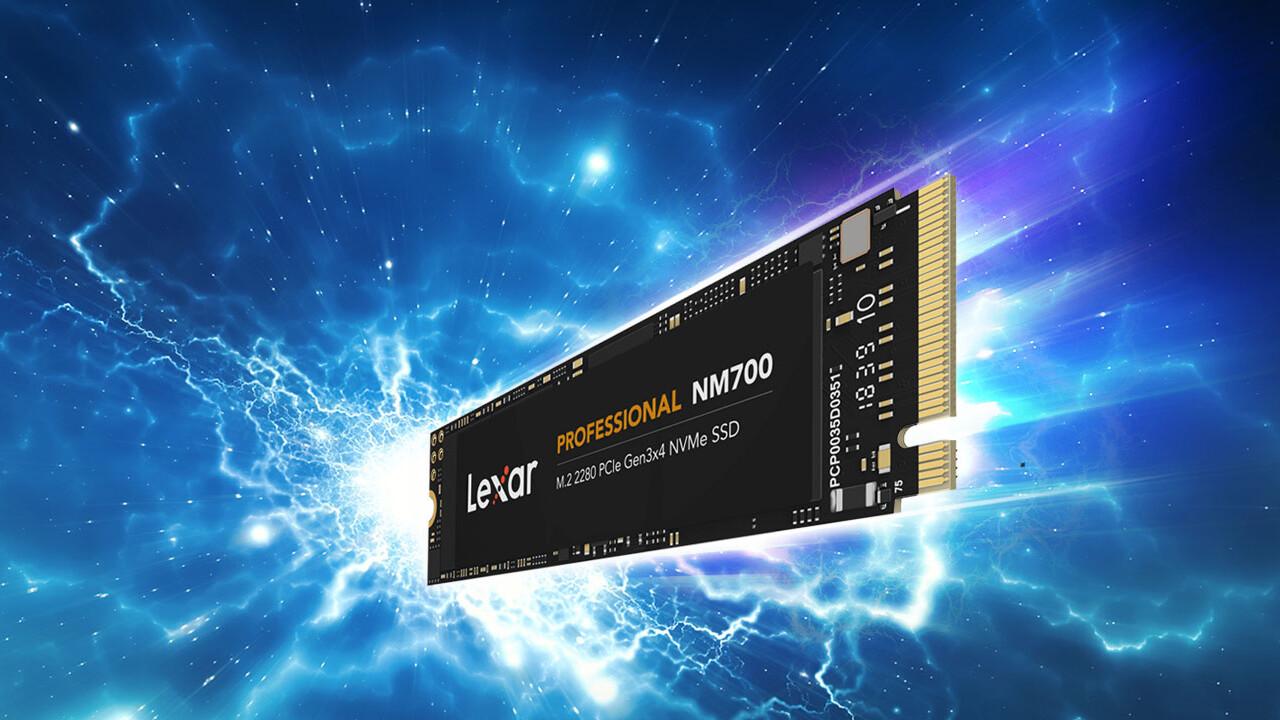 Professional NM700: Lexars schnellste SSD liest am Limit von PCIe 3.0