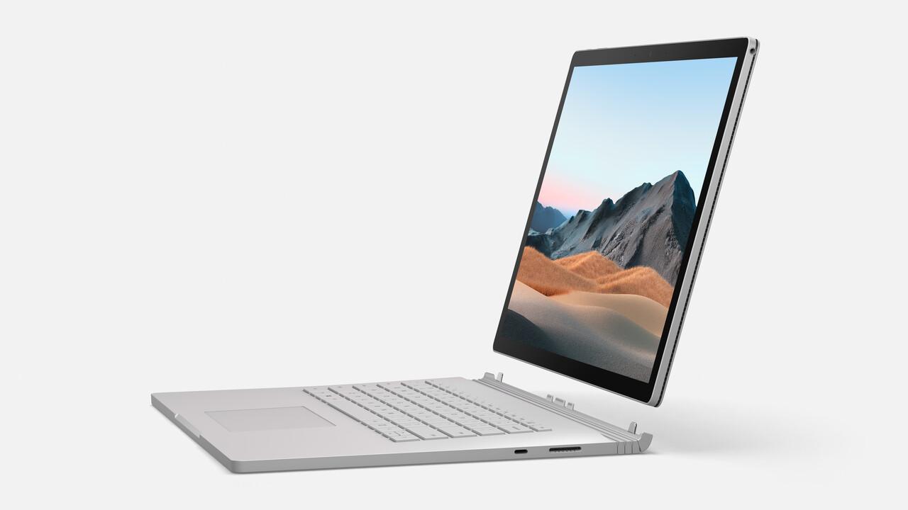 Surface Book 3: Microsoft stellt Tablet-Notebook auf Ice Lake um