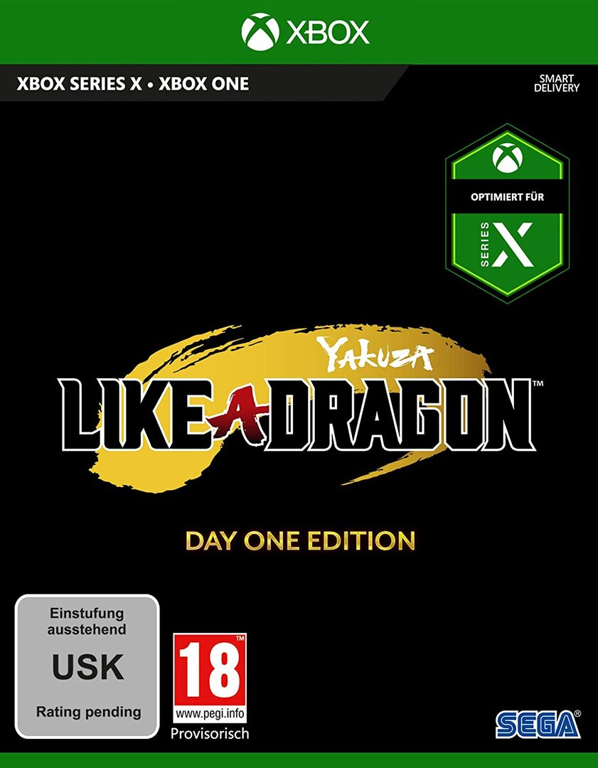 Cover von Yakuza: Like a Dragon