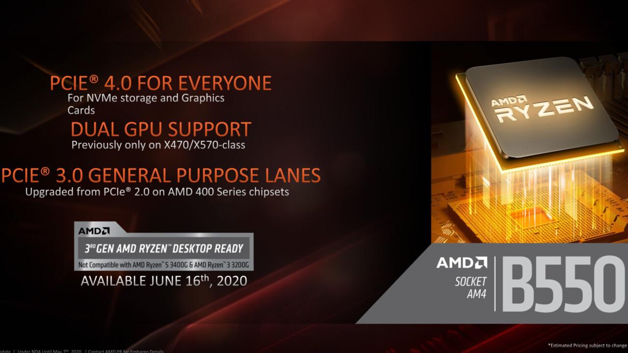 AMD Renoir: Sockel-AM4-Desktop-Lösung auf B550-Board gesichtet