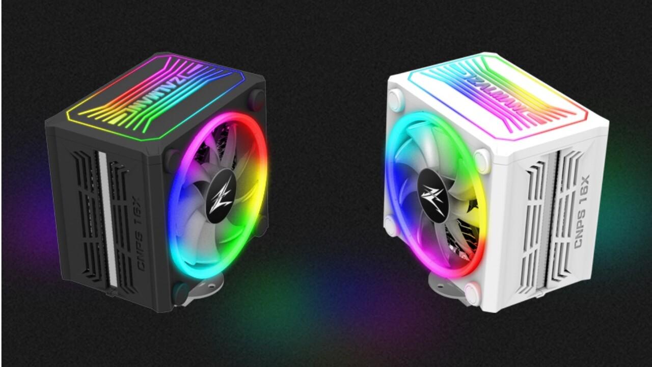 RGB-Kühler: Zalman CNPS16X trägt beleuchtete Vollverkleidung