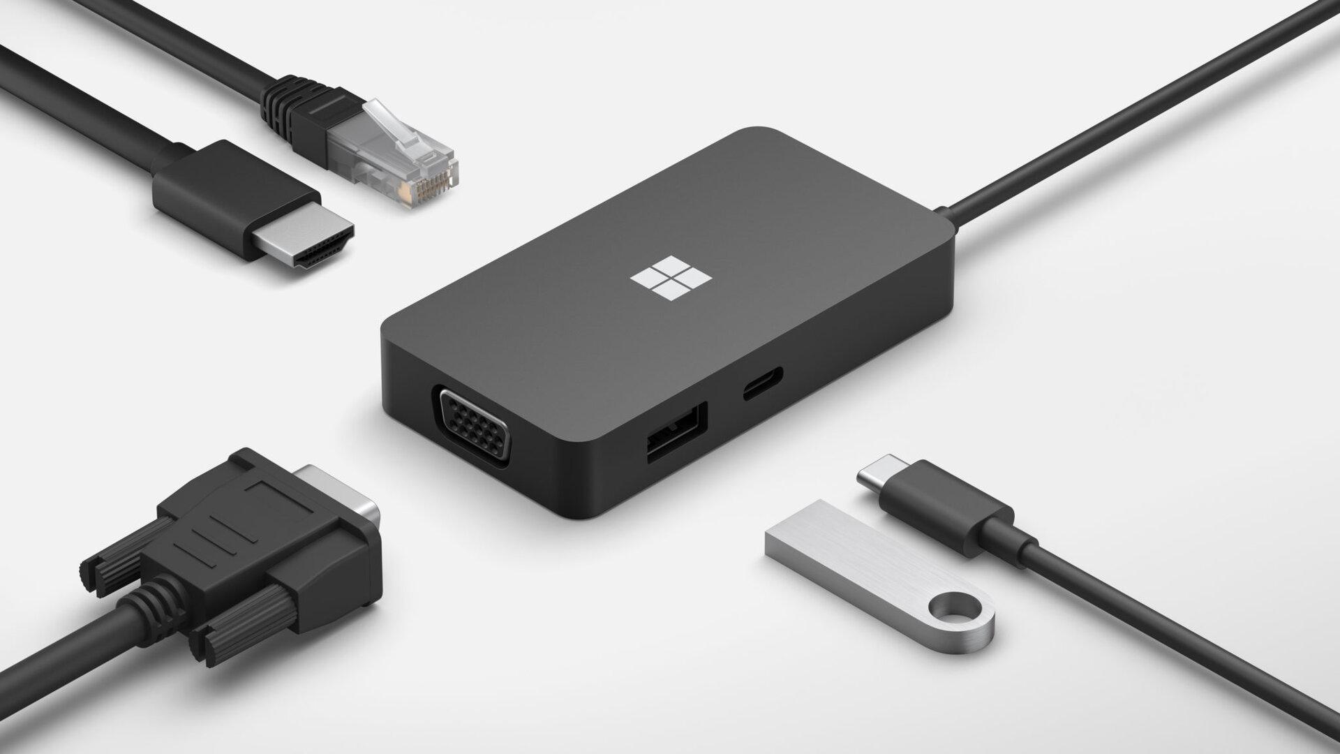 Microsoft USB-C-Travel-Hub