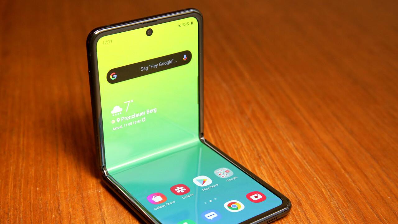 Samsung Galaxy Z Flip im Test: Das coolste sinnlose Smartphone der Welt
