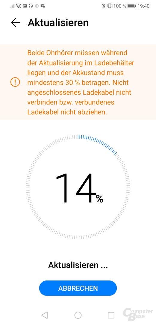 Huawei AI-Life-App mit Huawei FreeBuds 3i