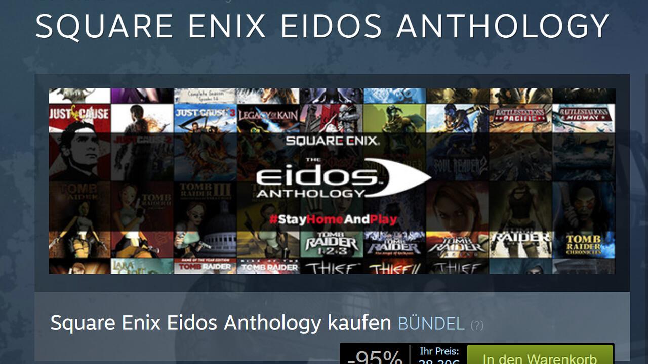 54 Spiele für 38 Euro: Eidos-Anthology-Bundle für guten Zweck