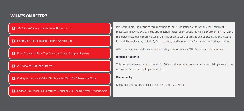 AMD spricht im Rahmen der Let's build... 2020 über RDNA und Zen 2