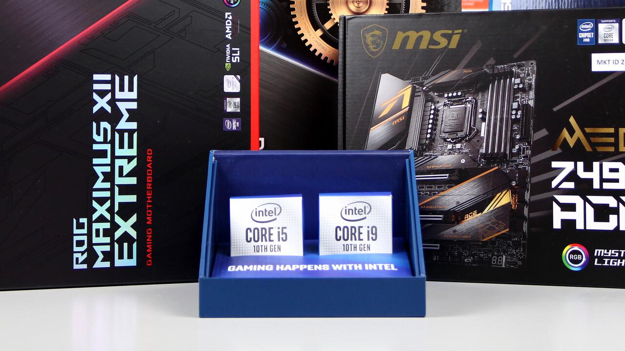 Core i9-10900K und i5-10600K im Test: Eine Frage des Limits