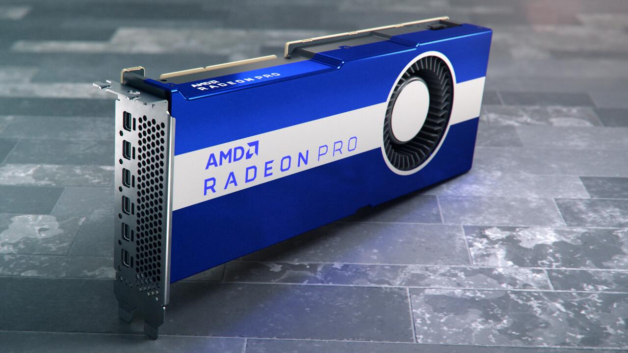 Radeon Pro VII: Vega 20 kommt in die professionelle Workstation