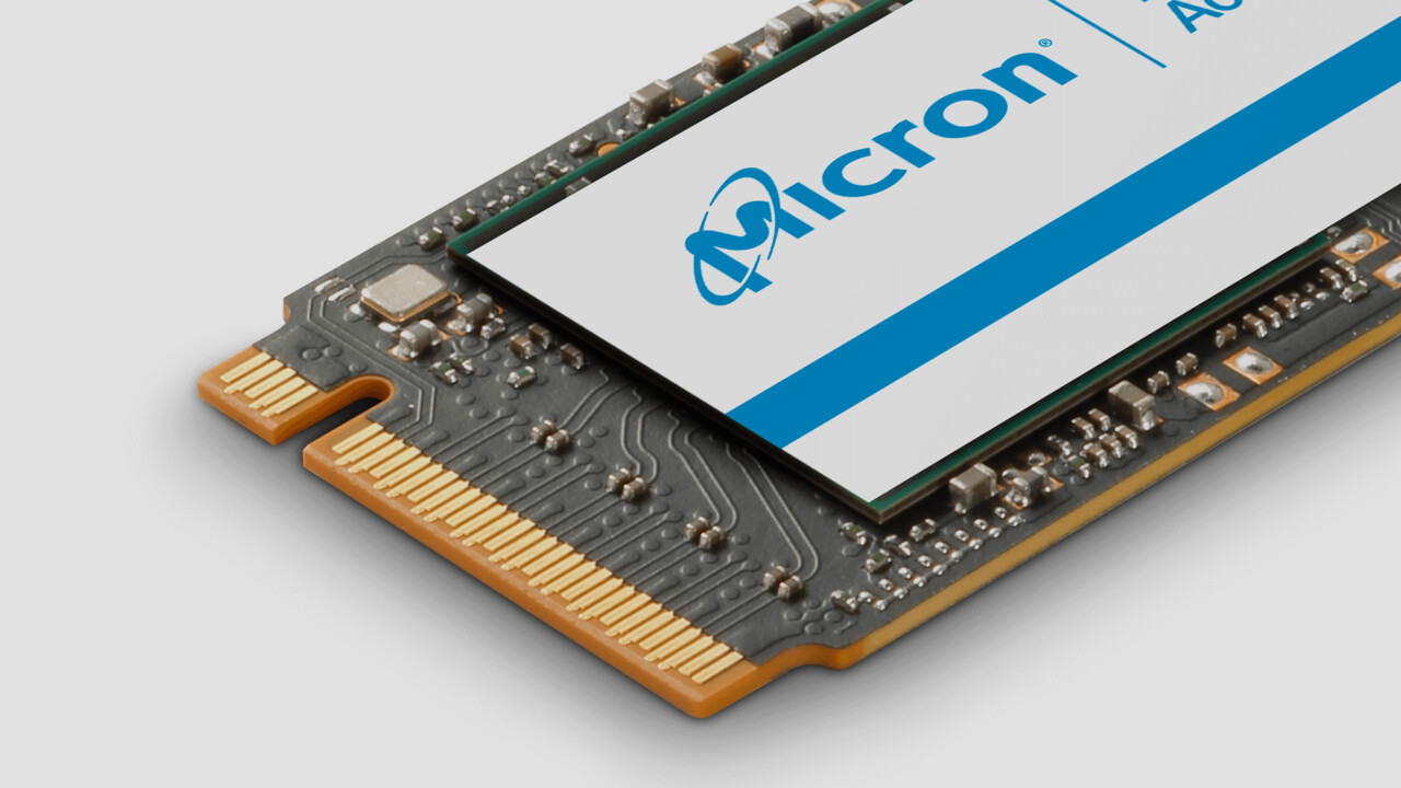M.2-SSDs mit NVMe: Micron stockt bei Leistung und Speicherplatz auf