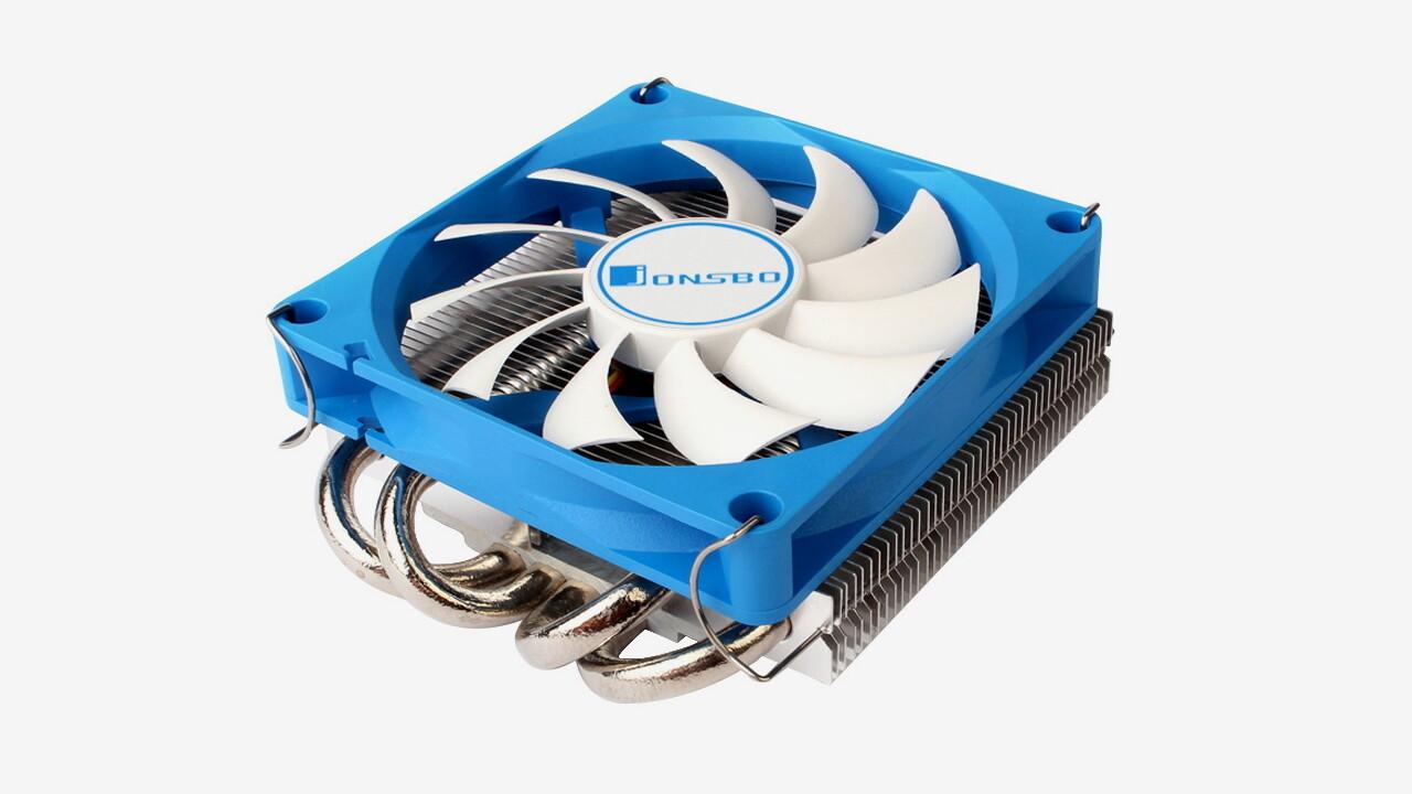 Jonsbo HP-400: 36 Millimeter Kühlerhöhe reichen für vier Heatpipes