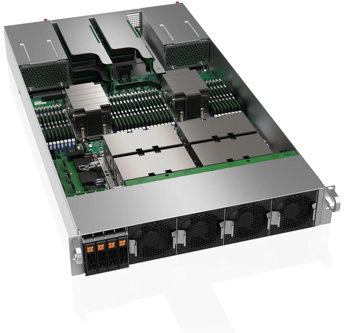 Supermicro AS-2124GQ-NART Server mit Nvidia A100
