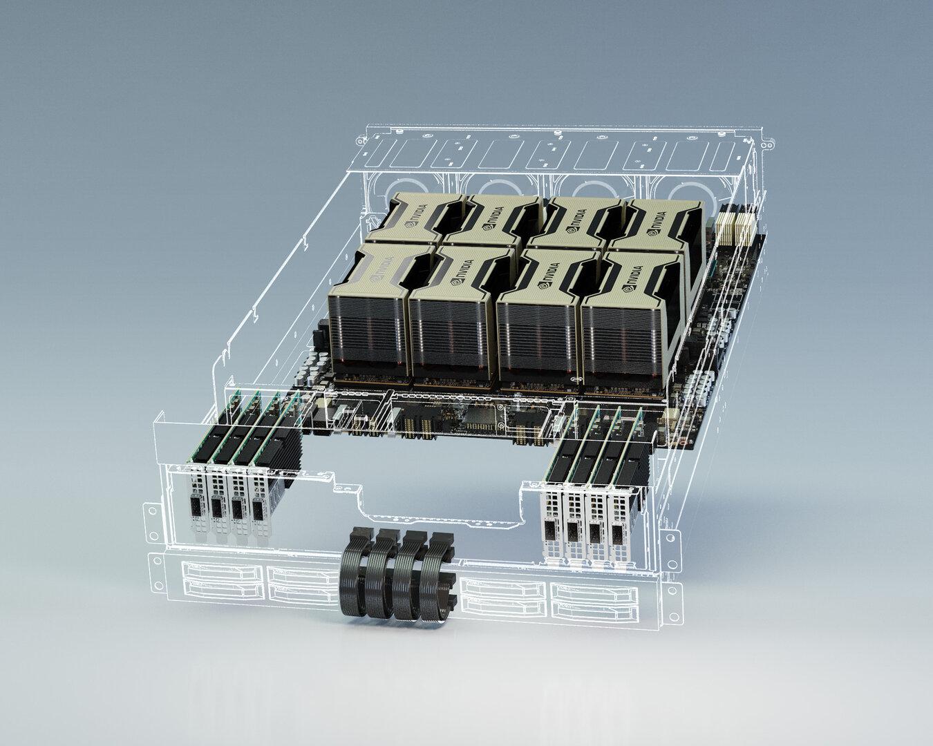 Nvidia HGX-Referenzplattform