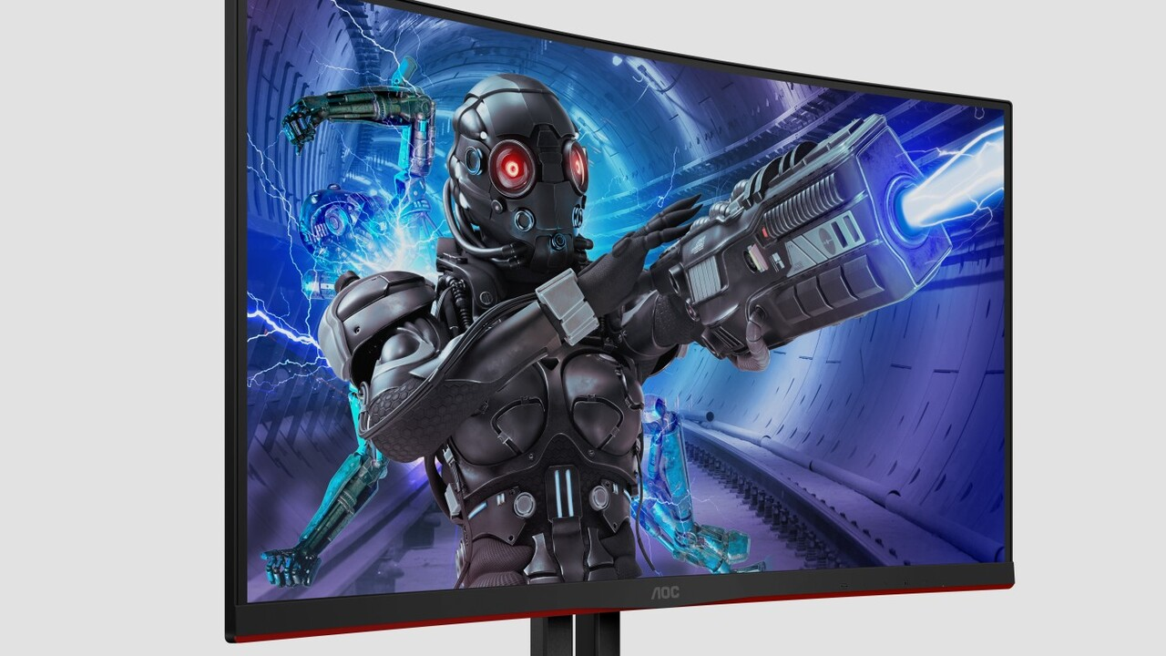 G2-Gaming-Monitore: AOC bietet fünf Mal 240Hz, mit Curved VA oder Flat TN