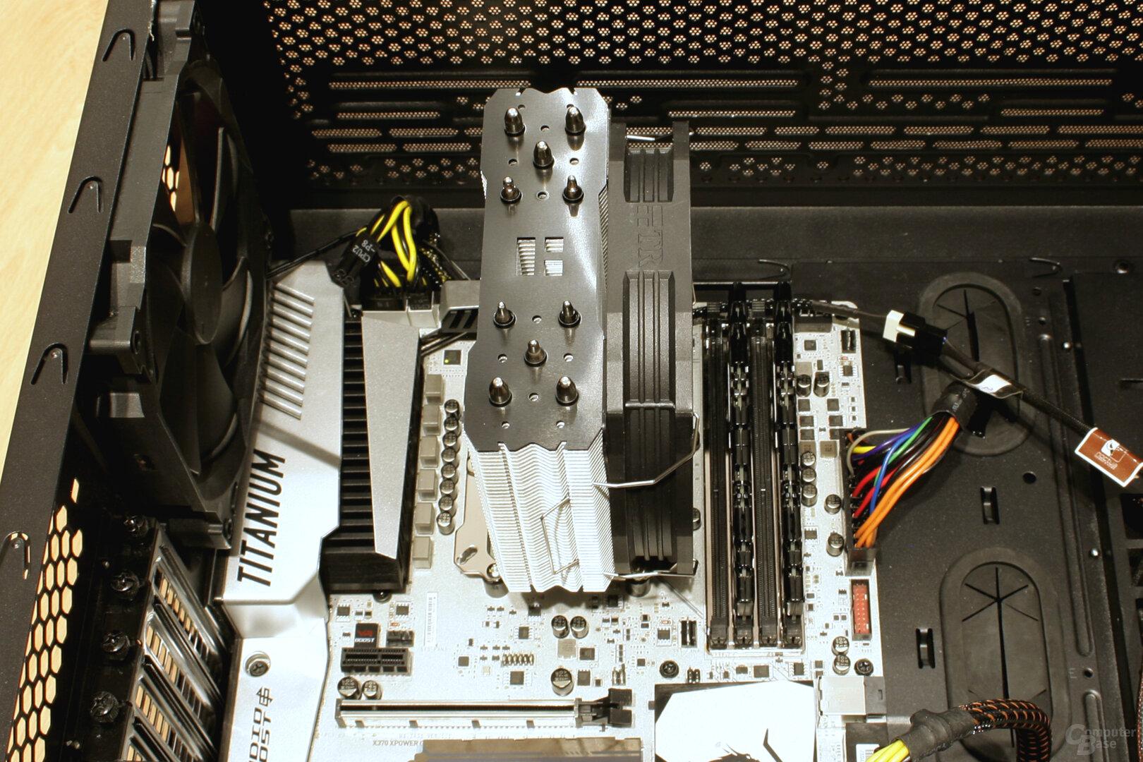 Thermalright TA 140: RAM bleibt komplett frei