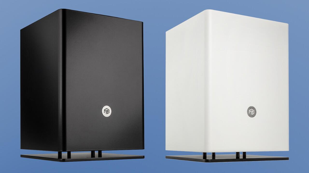 HG Computer Osmi 3.1: 8,6 Liter Volumen für einen Wohnzimmer-Quader
