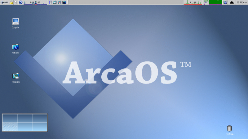 ArcaOS 5.0 basiert auf OS/2 Warp 4 MPC2
