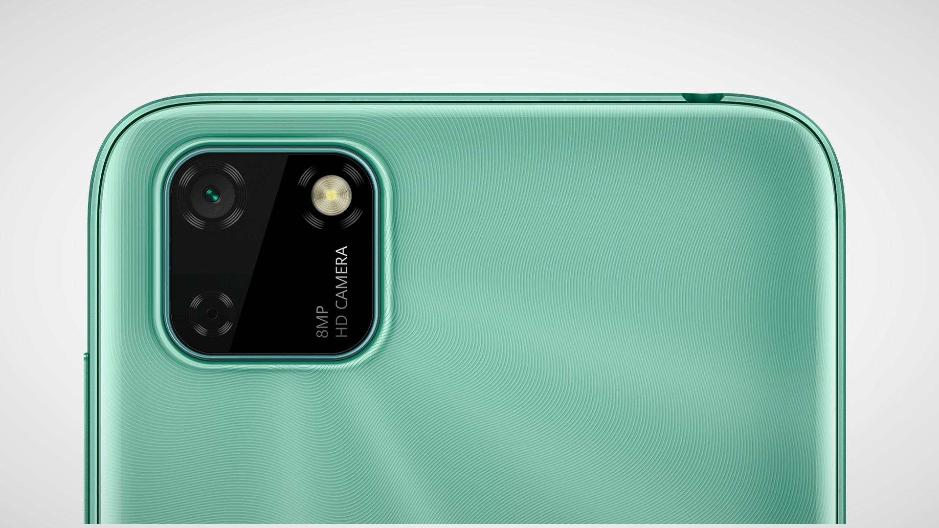Das Huawei Y5p besitzt nur einen einfache 8MP-Kamerasensor