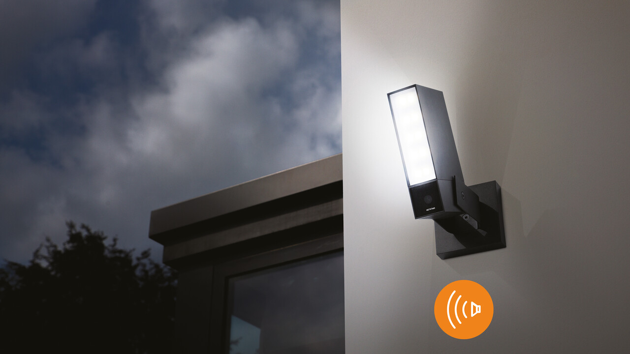 Netatmo: Neue smarte Außenkamera jetzt mit Alarmsirene