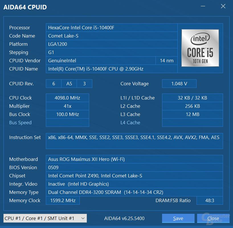 Auf Z490 geht zumindest DDR4-3200 mit XMP