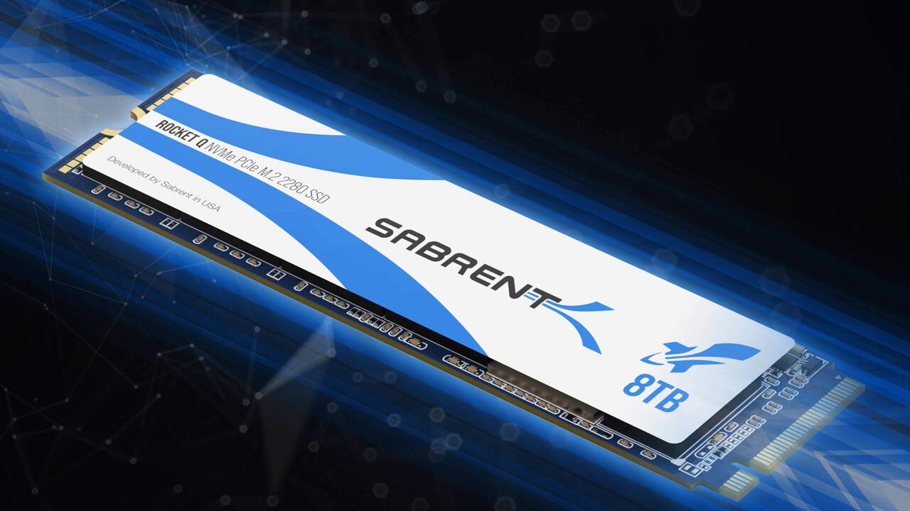 Sabrent Rocket Q: Erste M.2-SSD mit 8 TB existiert auf dem Papier