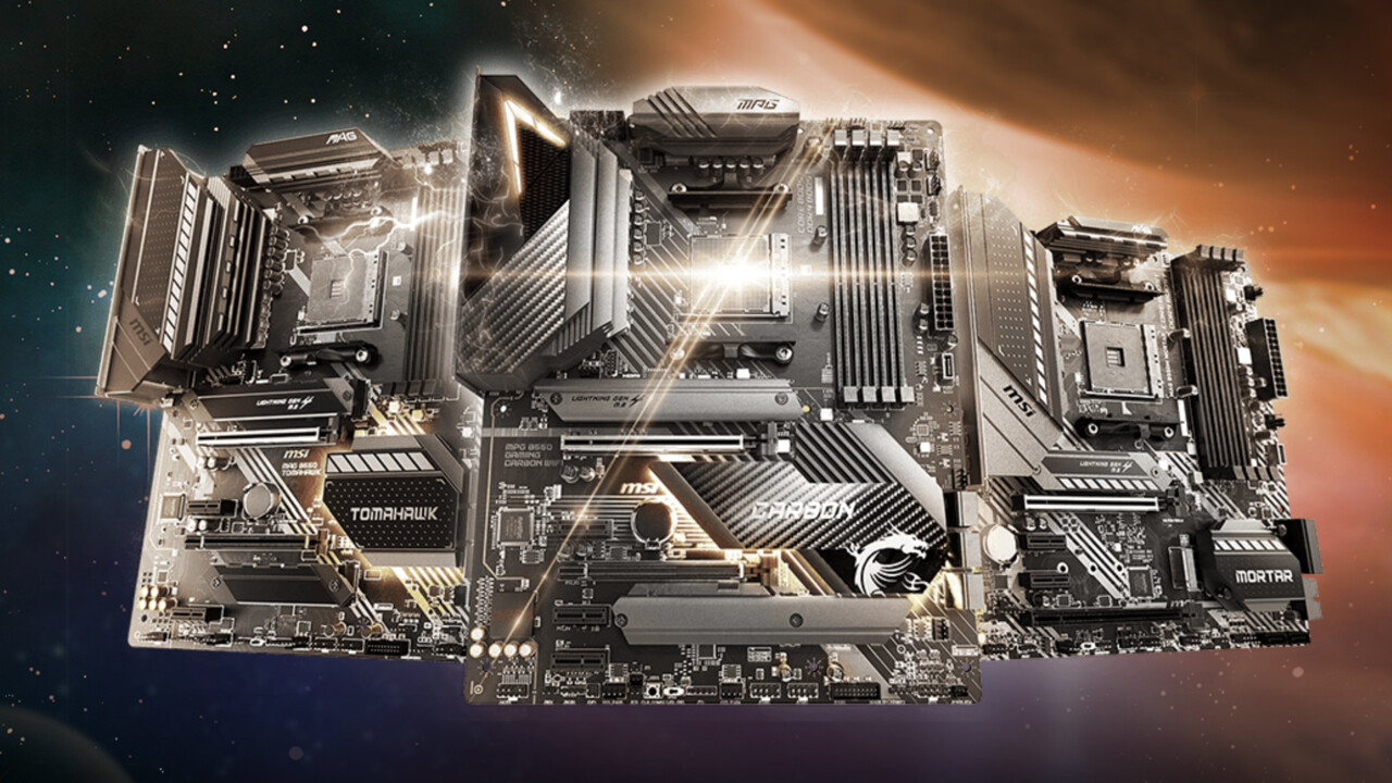 B550-Mainboards von MSI: Mit kleinem AMD-Chipsatz ist das Tomahawk ganz groß