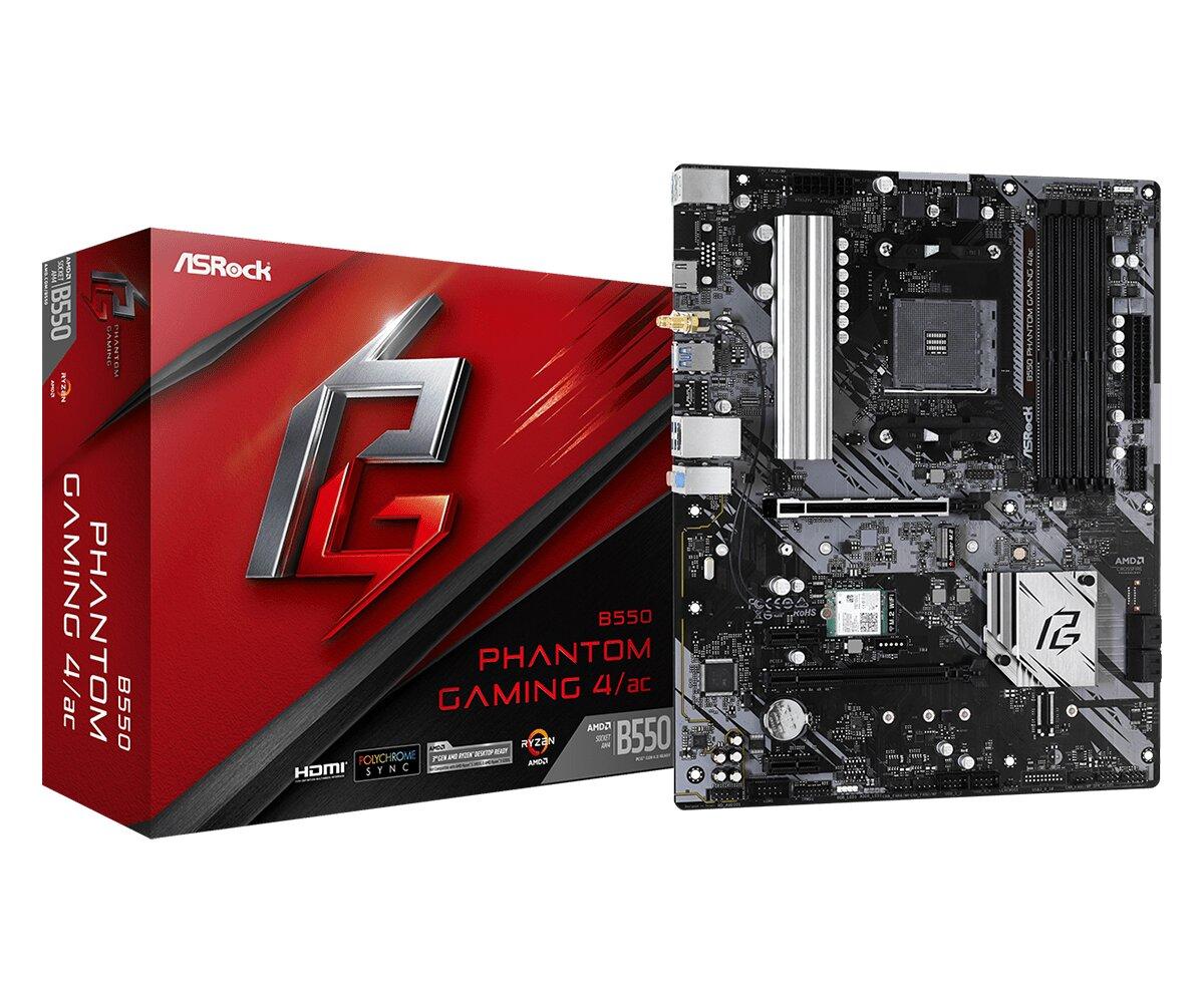 ASRock B550 Phantom Gaming 4/ac(L1)