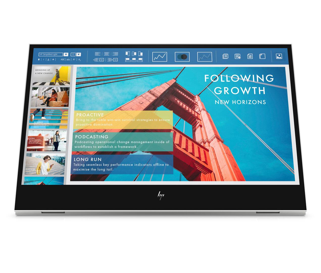 HP E14 Portable Monitor