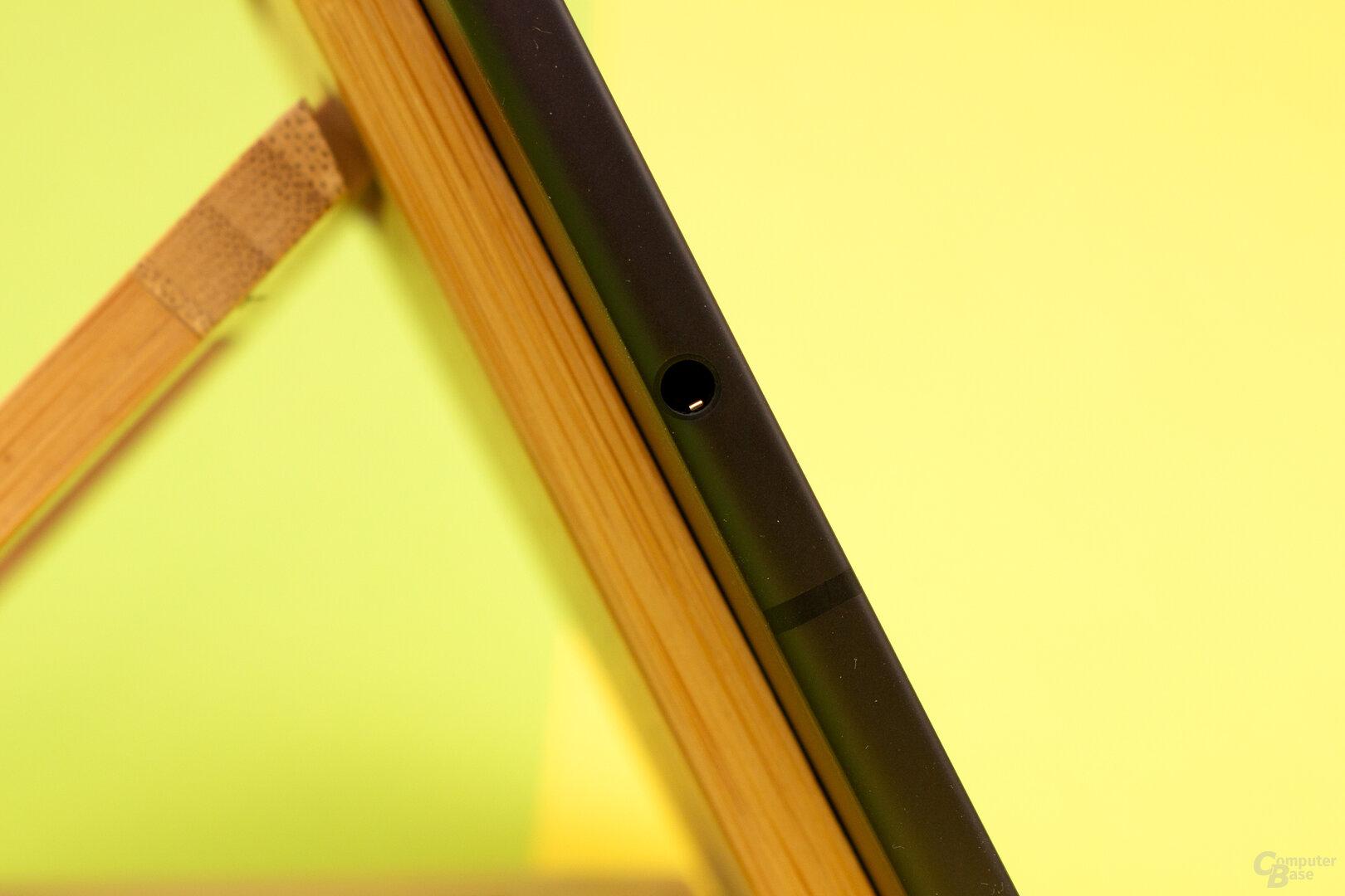 Das Galaxy Tab S6 Lite verfügt gegenüber dem S6 über einen Kopfhöreranschluss