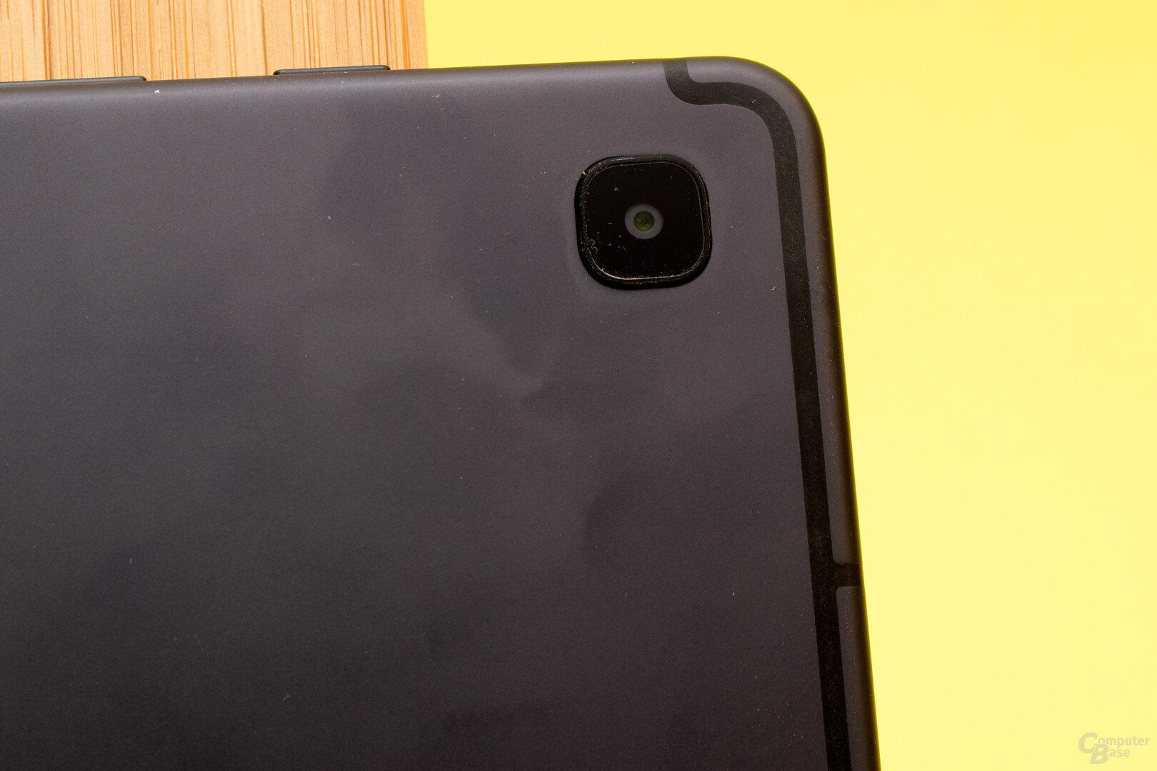 Das Galaxy Tab S6 Lite verfügt lediglich über eine rückseitige Kamera