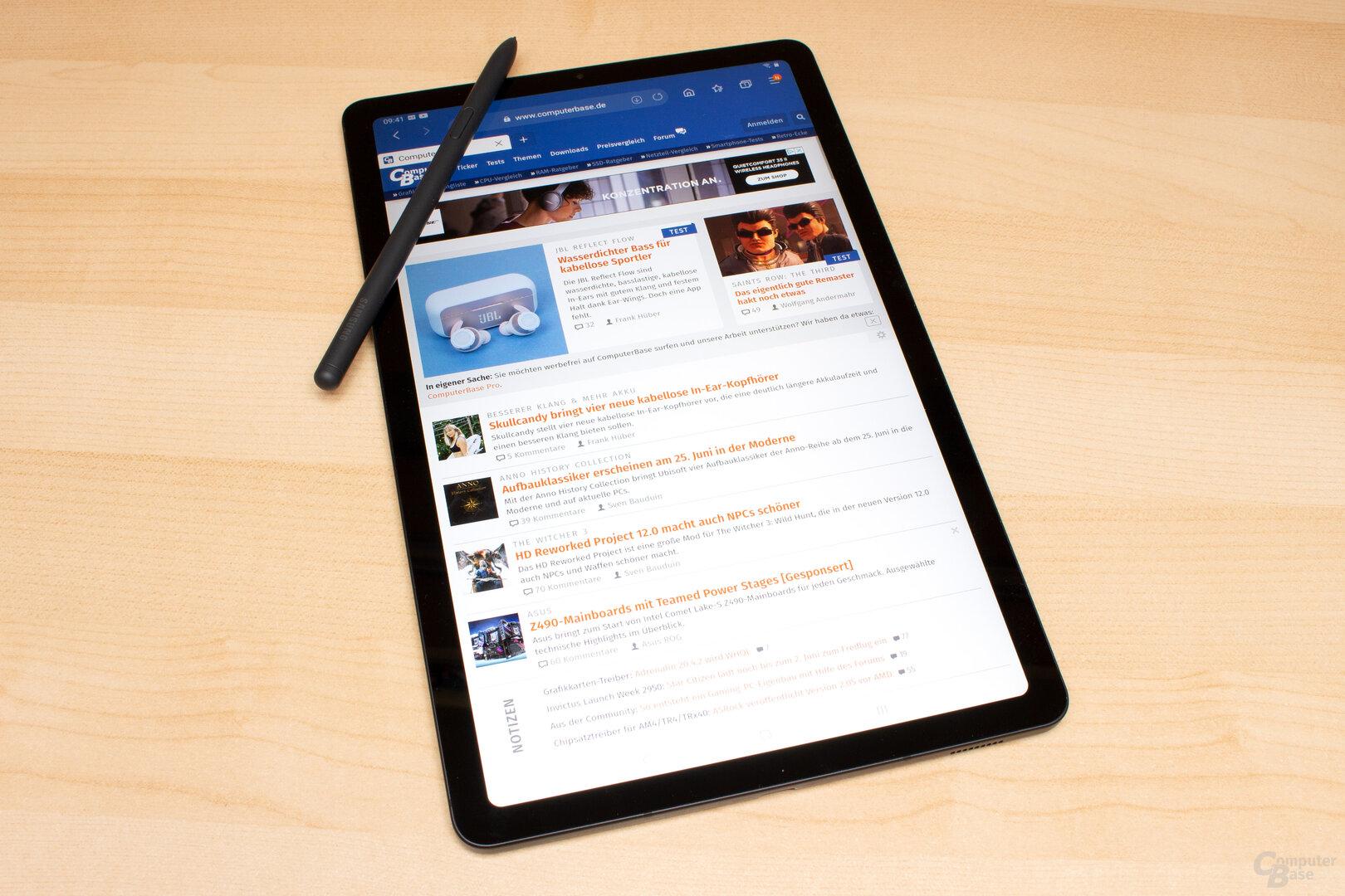 Samsung Galaxy Tab S6 Lite im Test