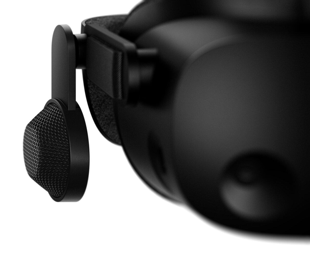 HP Reverb G2  mit den Kopfhörern der Valve Index