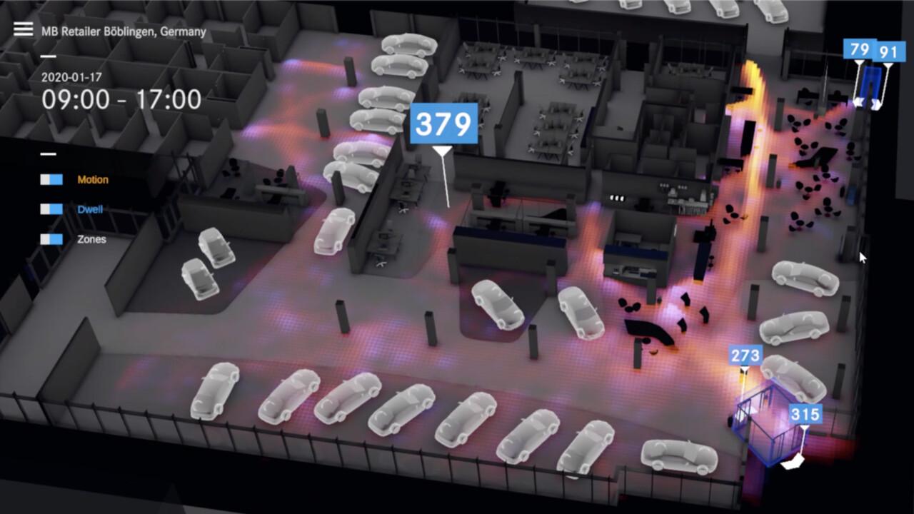 Autohaus der Zukunft: Mercedes analysiert mit KI-Kameras das Kundenverhalten