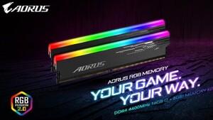 Gigabyte Aorus RGB: DDR4-RAM als 16-GB-Kit mit Hynix-D-Chips bis 4.400 MHz