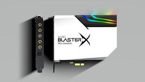 PCIe-Soundkarte von Creative: Sound BlasterX AE-5 Plus Pure Edition in Weiß mit RGB