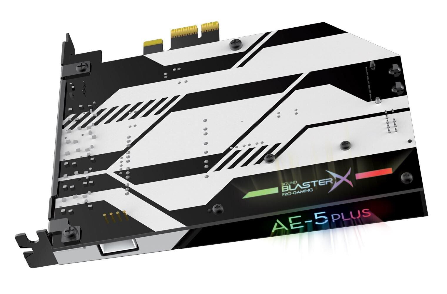 Creative Sound BlasterX AE-5 Plus Pure Edition